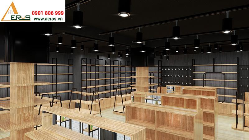 Thiết kế showroom mỹ phẩm Super Buyers tại quận 3
