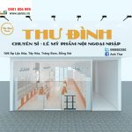 Thiết kế thi công cửa hàng mỹ phẩm Thư Đình tại Đồng Nai
