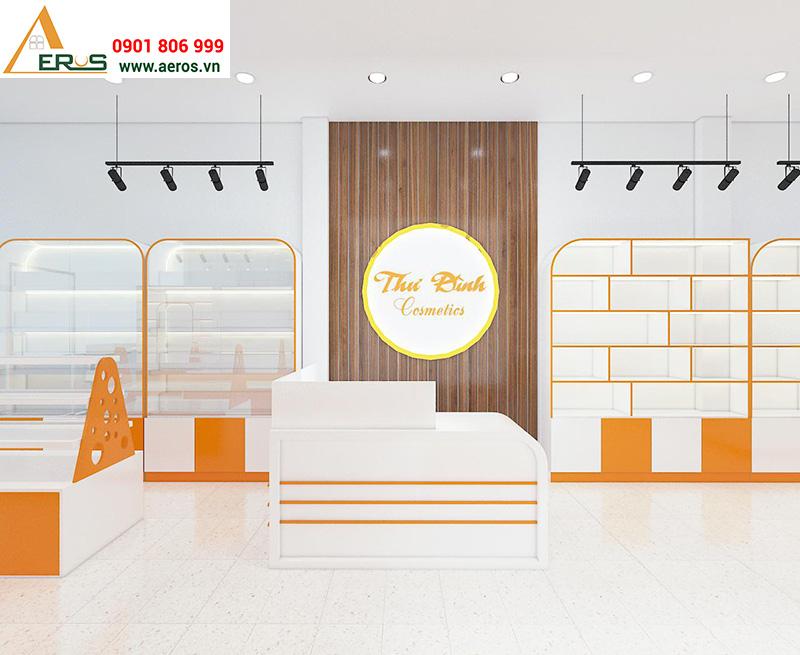 Thiết kế shop mỹ phẩm Thư Đình tại Đồng Nai