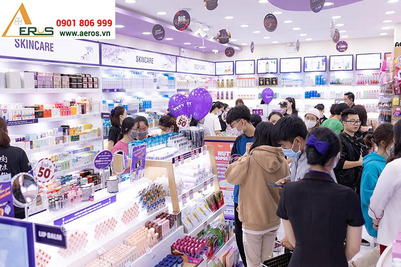 Khai trương shop mỹ phẩm Nuty Cosmetic tại Hà Nội