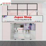 Thiết kế nội thất showroom mỹ phẩm Japan tại quận 1