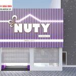 Thiết kế nội thất shop mỹ phẩm Nuty Cosmetic tại Hà Nội